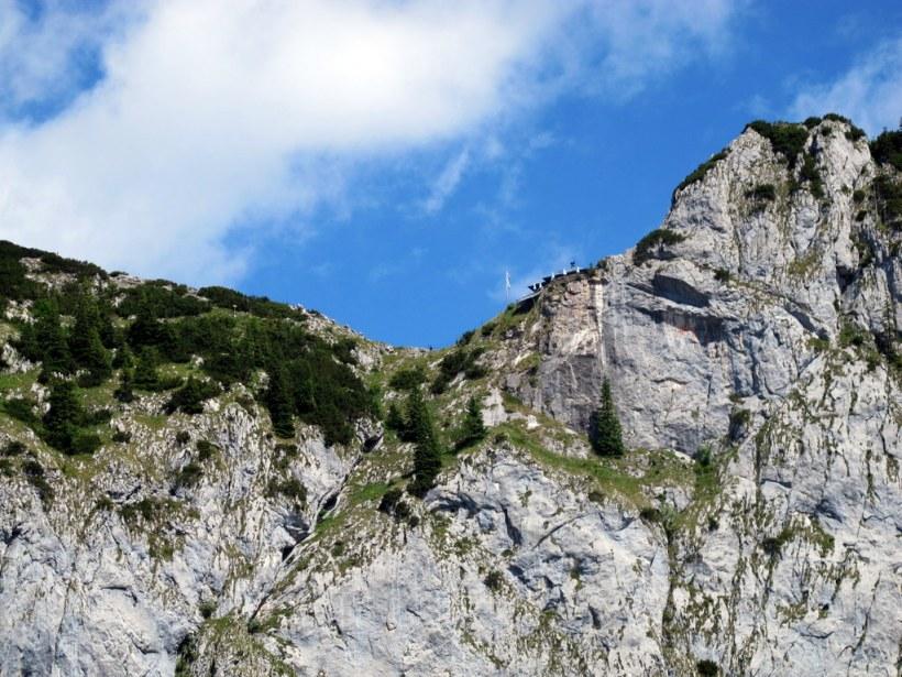 Die Tegernseer Hütte von Süden/Sonnbergalm
