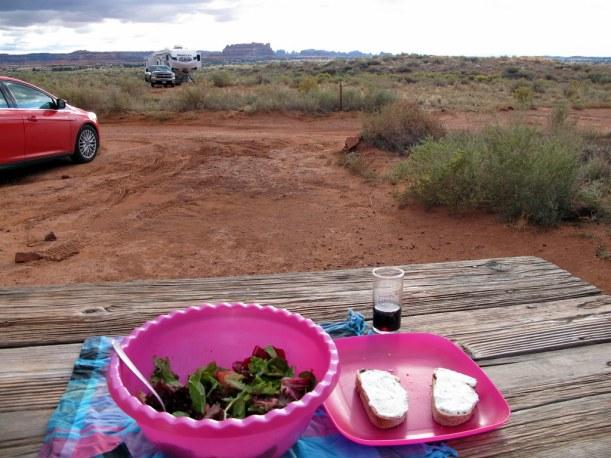 Campground mit Aussicht! Canyonland NP