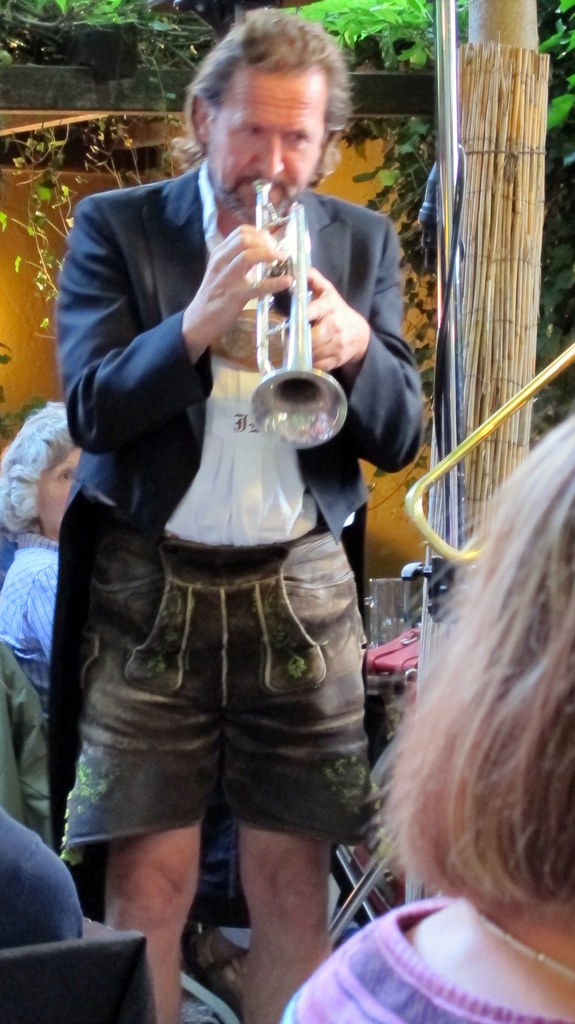 Hans Kröll, Trompete