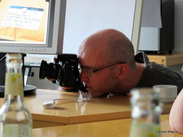 Voller Einsatz des Fotografen Oliver Schwarz