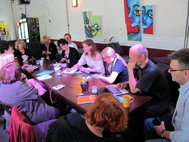 Session auf dem stARTcamp Ruhr York