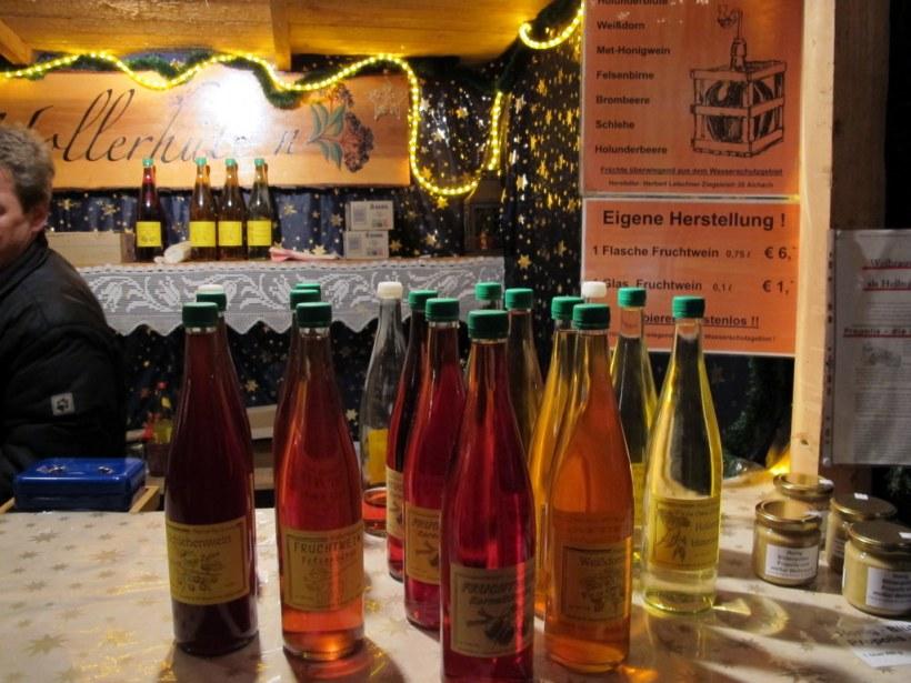 Holunderblütenwein, heiß und mit kleinem Schwips