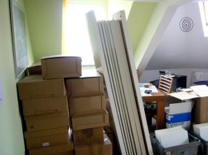 Alles verpackt! Der Umzug kann beginnen!
